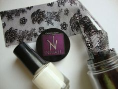 Crissie's Mind: NOTD: Nude Lace Nails
