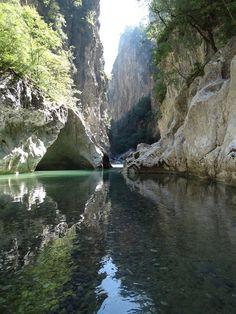 Aoös Canyon - Epirus, Greece