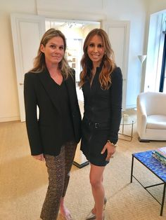 Isabel Madison and Aerin Lauder