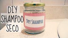 shampoo seco de arroz harina - YouTube