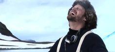 Alexander Skarsgard is....Ernest Shackleton Funny or Die