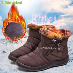 Women's Luxury Boots Winter Waterproof Anti-Slip Boots Mid & High (Hot Sale ! Today Only) – Diy Gifts For Friends Pump Shoes, Women's Shoes Sandals, Shoe Boots, Comfy Shoes, Casual Shoes, Casual Sneakers, Shoes Sneakers, Buy Boots, Moda Casual