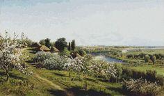 Apple Blossom in Little Russia Cross Stitch Pattern