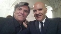 Marco Eugenio Di Giandomenico e Pino Farinotti (Milano, settembre 2014)