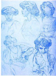 """ Alphonse Mucha - Documents Décoratifs """