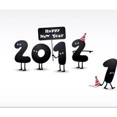"""Cute """"2012"""" d[^_^]"""