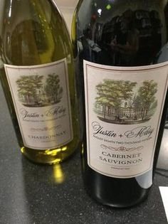 Homemade wine bottle labels for our wedding! Drink Labels, Wine Bottle Labels, Homemade