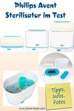 Der Philips Avent Sterilisator ist größenverstellbar und tötet gefährliche Bakterien durch natürlichen Wasserdampf. So ist dein Kleines optimal geschützt. Finde im Sterilisator Test alle Infos, Tipps und jede Menge Fotos ... Washing Machine, Home Appliances, Pictures, Heating Element, Pacifiers, Newborns, Cleaning, Tips, House Appliances