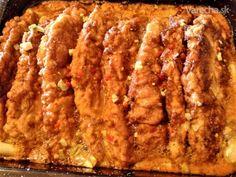 Čertovsky pálivé rezne (fotorecept) - recept   Varecha.sk Meatloaf, Banana Bread, Bacon, Beef, Treats, Breakfast, Desserts, Pork, Food And Drinks