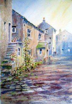 Soft Pastel and Watercolour combination. - WetCanvas