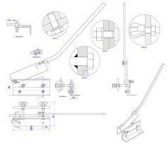 sheet metal cutting shears 110V Bench Grinder Wiring-Diagram sheet metal bench shear plan assembly drawing sheet metal shear sheet metal brake