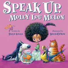 Molly Lou Melon's mother taught her to use her big voice for good--to speak up for what's right, for those who can't, and even when it's hard. So she does. When school starts and a bully begins teasing everyone, including a new student, Molly Lou knows just what to do. From standing up for a friend to admitting when you've made a mistake, Molly Lou shows us how speaking up is always the right choice.