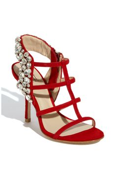 Shop Women's Pelle Moda Sandal heels on Lyst. Track over 1772 Pelle Moda Sandal heels for stock and sale updates. Fancy Shoes, Red Shoes, Me Too Shoes, Shoe Boots, Heeled Boots, Ballroom Shoes, Kinds Of Shoes, High Heels Stilettos, Shoes Heels