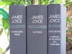 James Joyce Book Set: Ulysses, Dubliners, Finnagans Wake by Random House/ Viking 1959