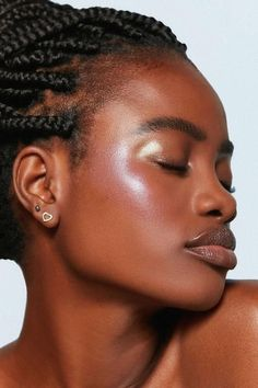 (paid link) how to put up with care of your position male. >>>Click image for more details. Dewy Makeup, Beauty Makeup, Hair Beauty, Cornrows, Brown Skin, Dark Skin, Protective Styles, Foto Face, Afro