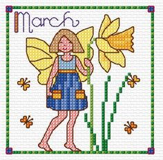 March Fairy | Lesley Teare Thoughts on Design