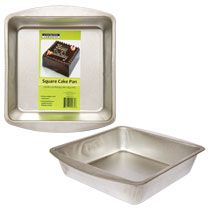 """For a gift basket. . . Bulk Cooking Concepts Square Cake Pans, 7½"""" at DollarTree.com"""