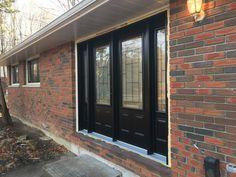 steel Entry Door w/ Sidelites Entry Doors, Garage Doors, Steel, Outdoor Decor, Home Decor, Front Doors, Homemade Home Decor, Decoration Home, Steel Grades