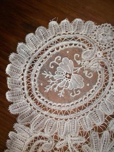 Linens And Lace, Needful Things, Vintage Lace, Embroidery, Etsy, Lace, Bias Tape, Needlepoint, Cut Work