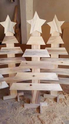Home Decor Wall Hanging Shelf American Style Pastoral Wood Decorative Shelves For Living Room Children Bedroom Wall Decorations Pallet Wood Christmas, Wooden Christmas Crafts, Wooden Christmas Decorations, Wood Christmas Tree, Xmas Crafts, Christmas Art, Christmas Projects, Wall Decorations, Rustic Christmas