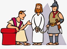 Free visuals: Pontious Pilate offers to release Jesus or Barabbas ...
