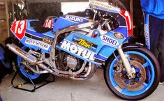 Suzuki Gsx R, Moto Suzuki, Suzuki Motorcycle, Gsxr 750, Racing Motorcycles, Second World, Road Racing, Formula One, Motorbikes