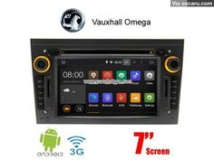 Vauxhall Omega Android 4.4 Car Radio WIFI 3G DVD GPS Player multimedia navi