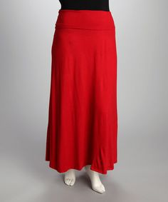 Take a look at this Red Maxi Skirt - Plus by CANARI on #zulily today! $31.99, regular 49.00 Sale ends in 1 days, 6 hours. In otherwords, sale ends on Friday, June 7th in the evening.