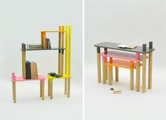 Mobilier Jungle par Rui Alves