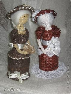 Куклы Плетение Кукломания Бумага газетная фото 1
