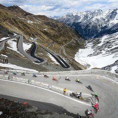 Stelvio Stage 16 Giro d'Italia 2017 @keitsuji / @tdwsport