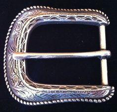 Simple Antique Silver Western Cowboy Cowgirl Rodeo Belt Buckle #western #cowgirl #rodeo #beltbuckle
