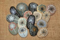Rock Painting Ideas Discover Clay Necklace / Clay pendant / Gift for mom / floral necklace / Personalized jewelry/ customized necklace / teacher gifts Pebble Painting, Pebble Art, Stone Painting, Body Painting, Painting Art, Handmade Necklaces, Handmade Jewelry, Personalized Jewelry, Etsy Jewelry