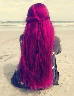 Imagen vía We Heart It #cool #crazy #fashion #girl #hair #love #sea #summer #tumblr #girltumblr #hairtumblr