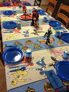 Power Ranger Birthday Party