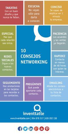 10 consejos para hacer #Networking www.rubendelaosa.com