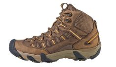 "The KEEN Alamosa Mid is featured in Backpacker Magazine's 2012 Gear Guide: ""This shoe offers a great fit and highly breathable mesh great for hot-weather hiking."""