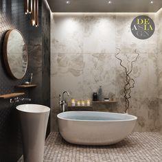 Bathroom Remodel Contemporary Bathtubs 28 New Ideas Best Bathroom Designs, Modern Bathroom Design, Bathroom Interior Design, Bathroom Ideas, Modern Design, Diy Bathroom Remodel, Shower Remodel, Bathroom Shower Curtains, Master Bathroom