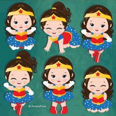 Superhero Letters Personalized Superhero Name Hand Painted Wonder Woman Birthday, Wonder Woman Party, Birthday Woman, Superhero Letters, Superhero Clipart, Cute Baby Girl, Cute Babies, Anniversaire Wonder Woman, Clipart Chica