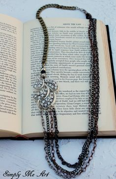 Vintage Rhinestone Pyrite and Mixed Metal by simplymeart on Etsy, $59.00