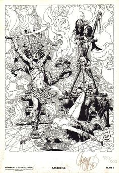 thebristolboard: Here's all 10 plates by Alex Niño from The...