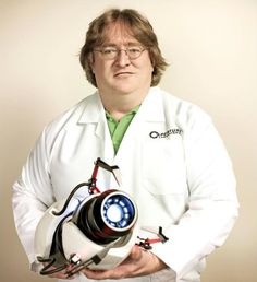 gaben with portal gun