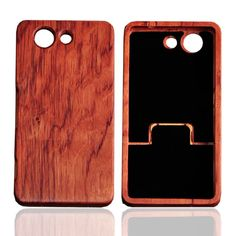 Retro Vintage Wood Bamboo Pattern Cases For Sony Xperia Z3 Compact M55W Z3