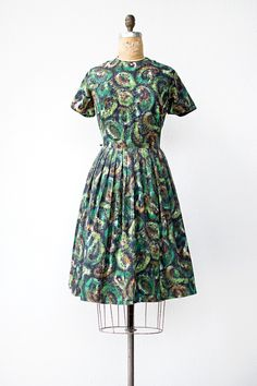 vintage 1960s dress | Ripened Hass Dress