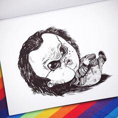 Baby Terrors por Alex Solis