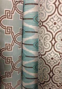 Brand new Premier Prints & color! Just arrived $8.99-9.99 per yard. Come check it out or call to order 417-882-9244 Premier Fabrics, Premier Prints, Printing On Fabric, Yard, House Design, Curtains, Check, Color, Home Decor