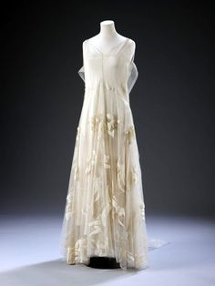 Evening Dress, Madeleine Vionnet, 1935