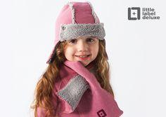 Lekkere warme muts en sjaal van Little Label deLuxe - winter 2012