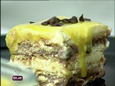 Pavê de Chocolate com Maracujá - Foto de Mais Você na TV