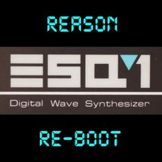 Ensoniq ESQ-1 Free Reason Refill   Now available from howtoprogramdrums.com